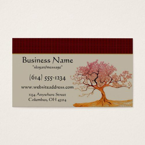 Asian Cherry Blossom Tree Business Cards Zazzle Com Cherry Blossom Tree Blossom Trees Cherry Blossom
