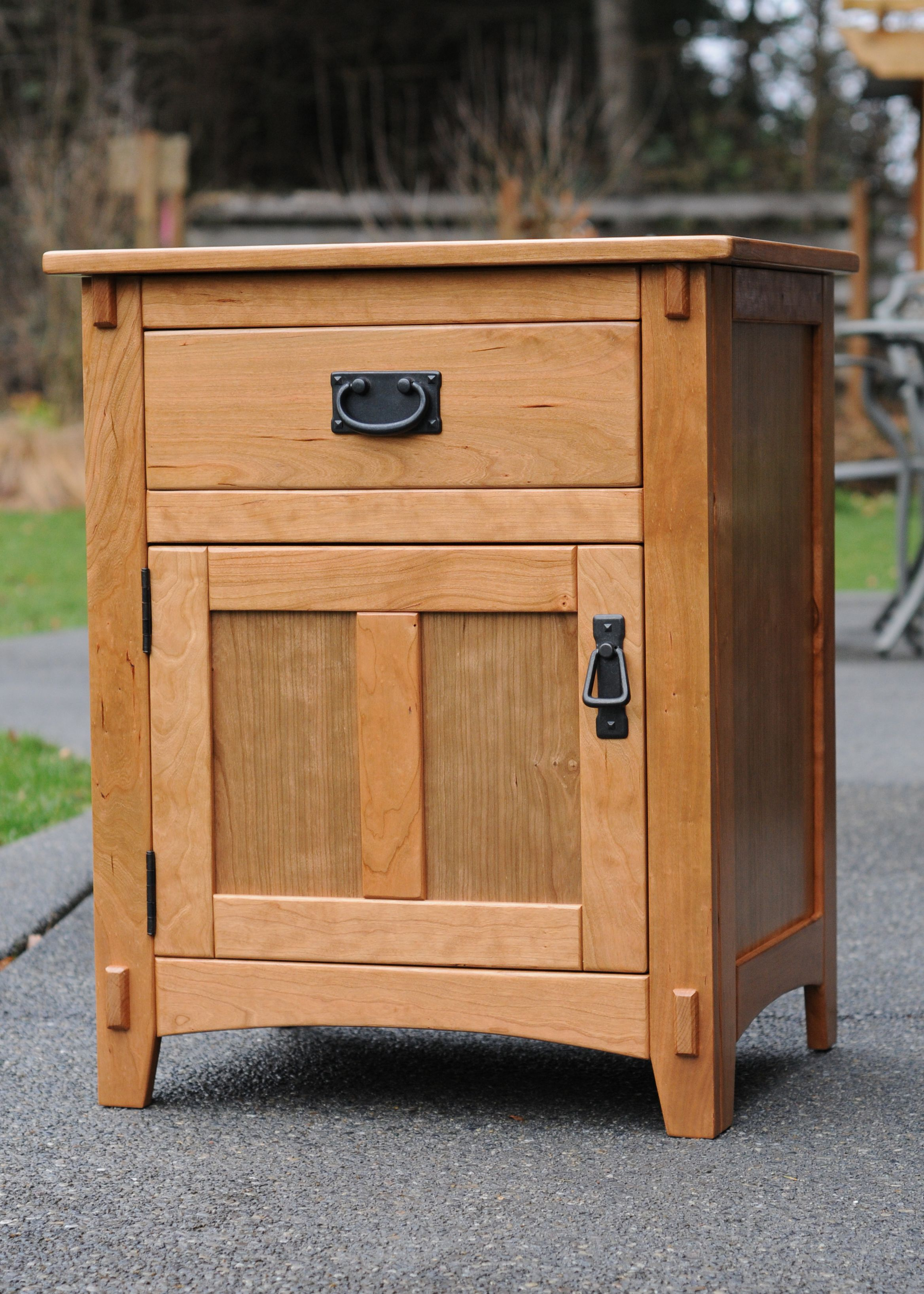 cherry night stand - kreg owners' community | woodworking