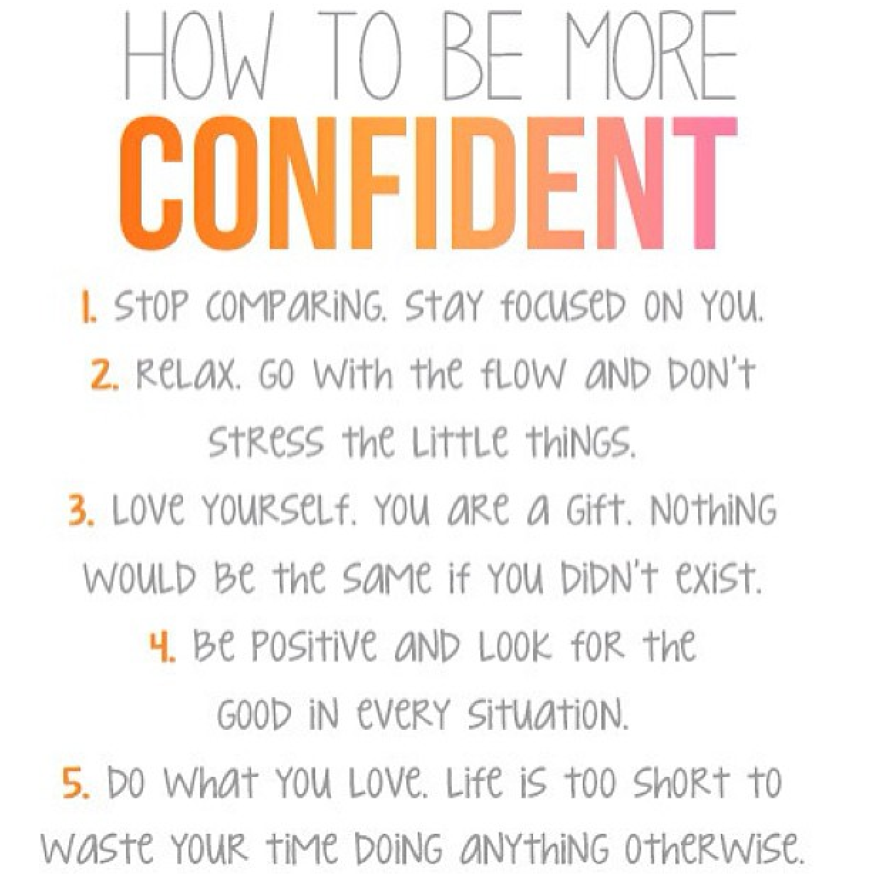 Image Result For Being More Confident Quotes