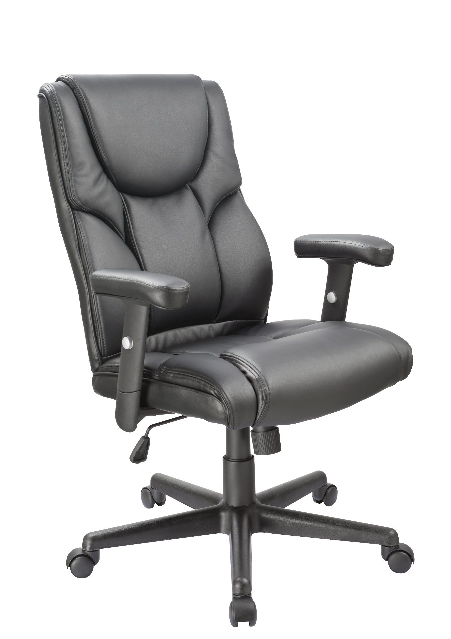 office factor executive office chair high back lumbar support