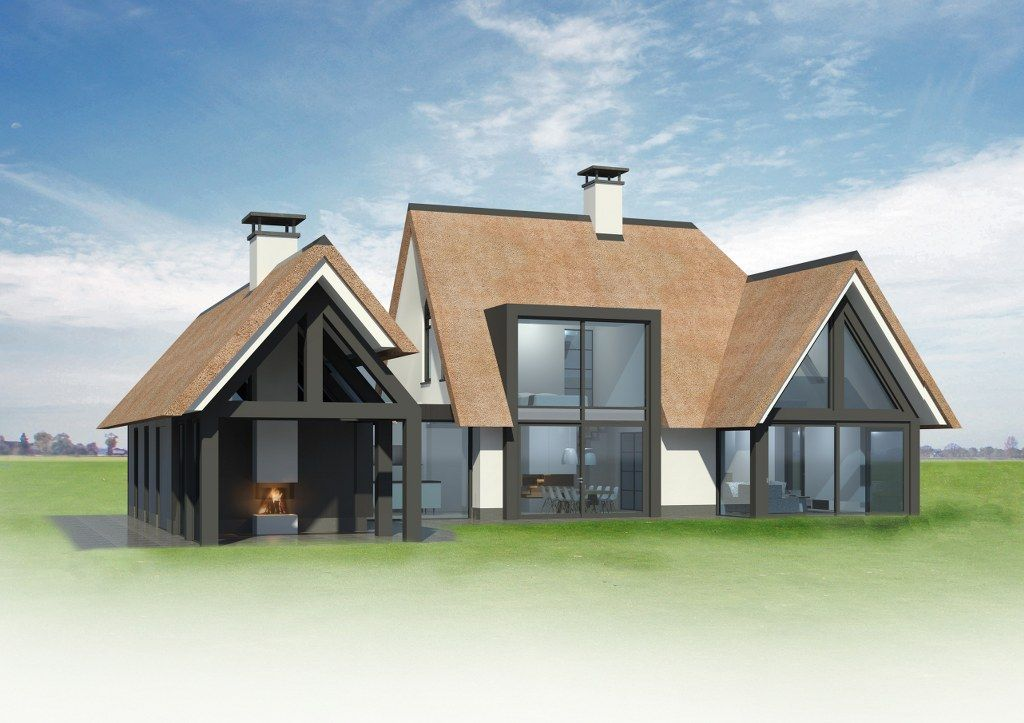 In ontwikkeling 5 bekhuis kleinjan huis pinterest for Architecten moderne stijl