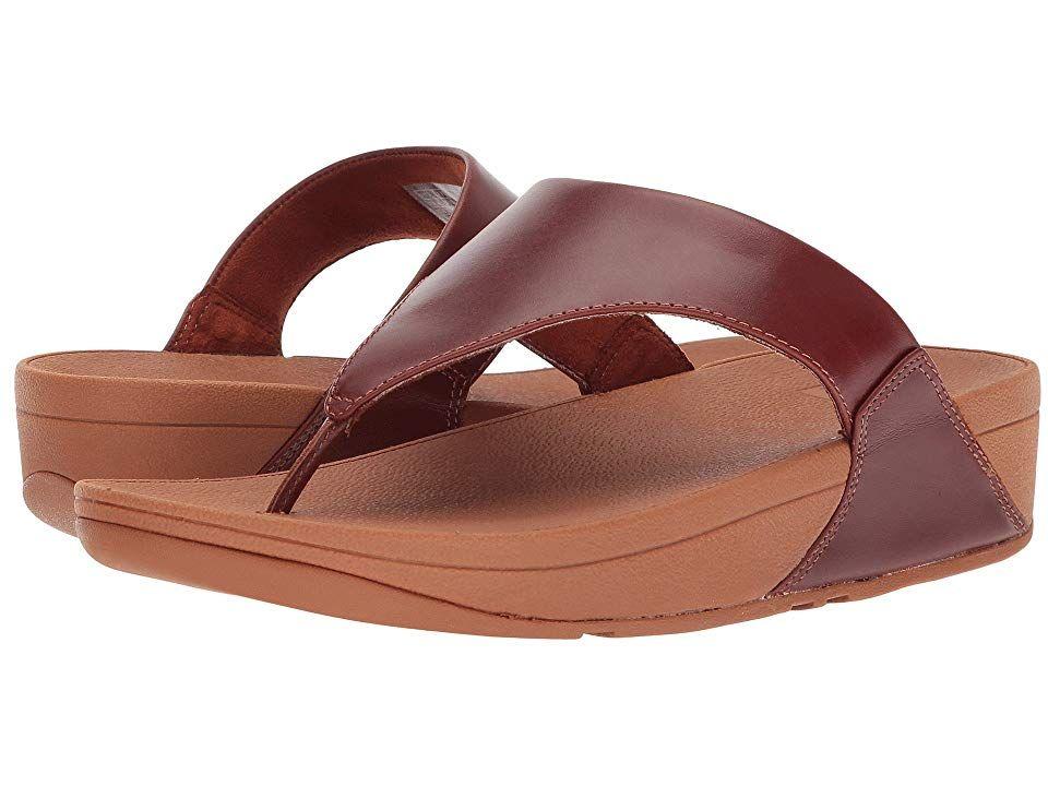fitflop lulu leather toe post sandal