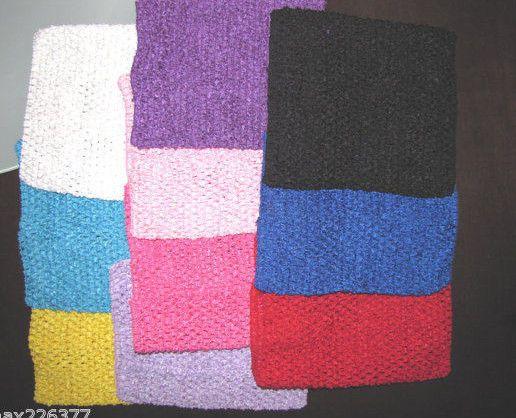 "8/"" CROCHET Headband STRETCH TUTU DRESS Tube top baby toddler size 1-3 year"