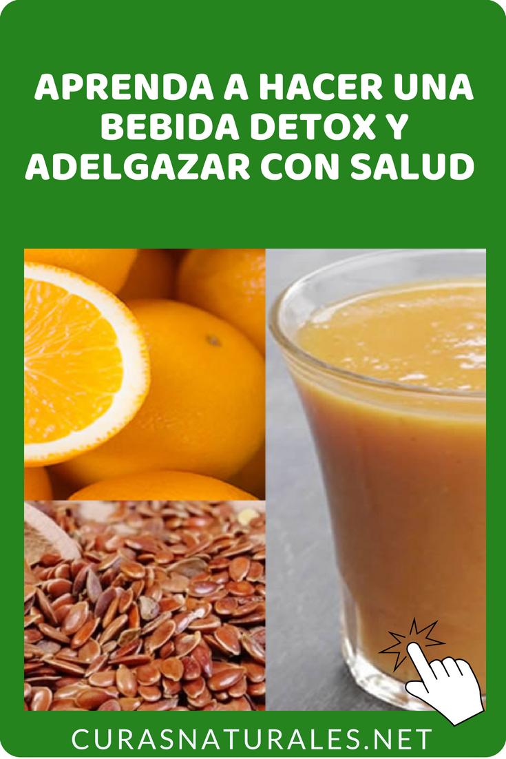 como hacer agua de naranja para bajar de peso