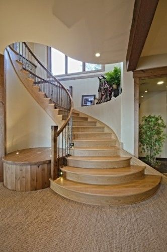Best Very Nice Stair Case I Would Use The Left Side Platform 400 x 300