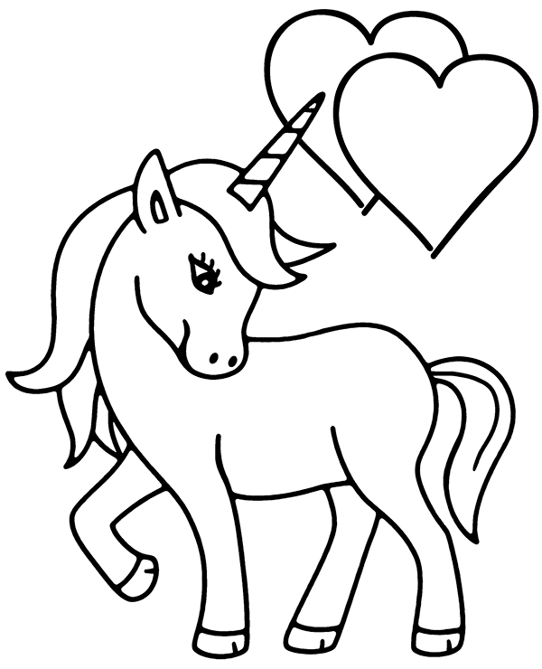 A Picture Of A Unicorn To Color Google Search Unicorn Coloring Pages Unicorn Drawing Cute Coloring Pages