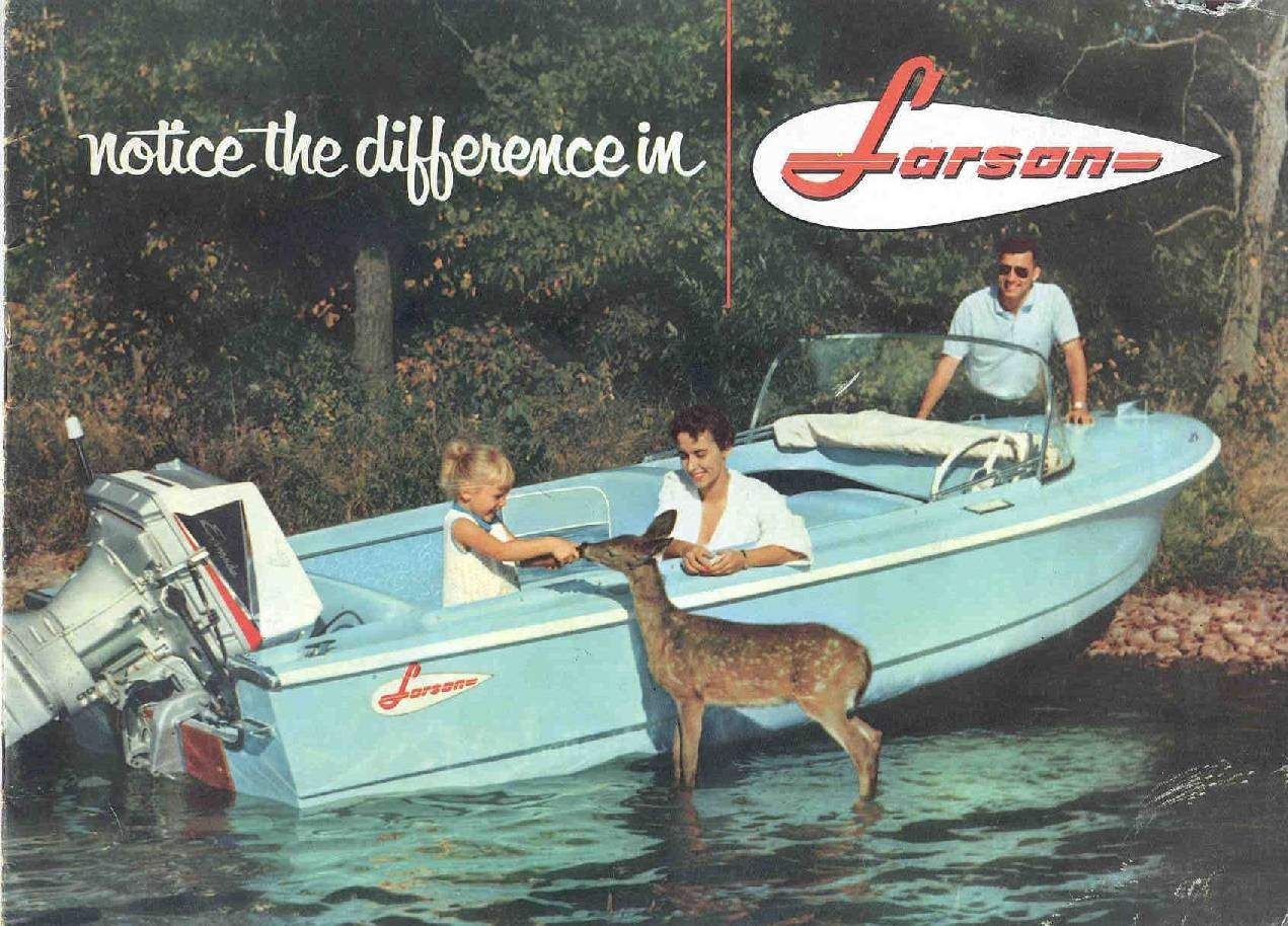 1960 Larson Boat All American Runabout