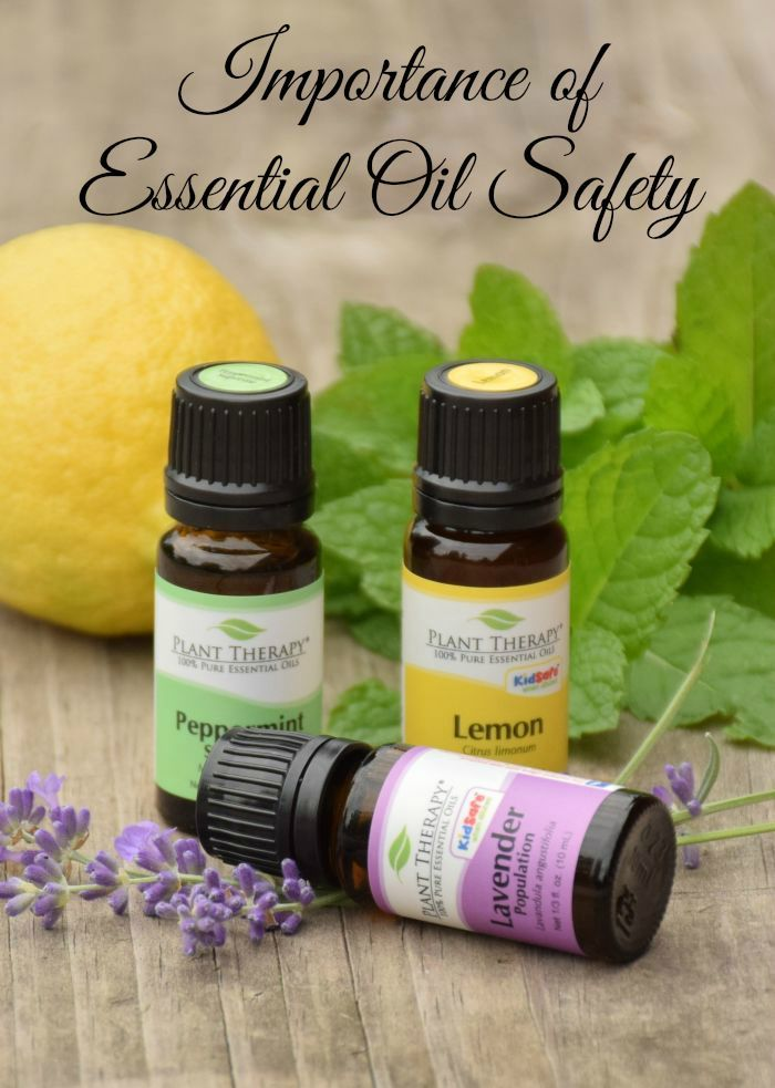 Click here to learn the importance of essential oil safety
