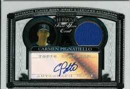 2005 Bowman Sterling #CPP C.Pignatiello AU Jsy A RC by Bowman Sterling. $8.40. 2005 Topps Co. trading card in near mint/mint condition, authenticated by Seller