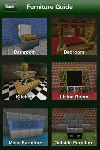 Minecraft Minecraft Furniture Minecraft Crafts Minecraft Designs