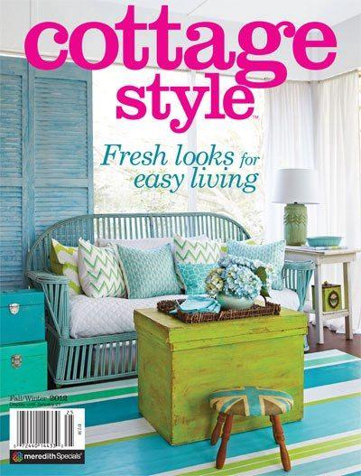 Flea market trixie blog in cottage style magazine for Cottage design magazine