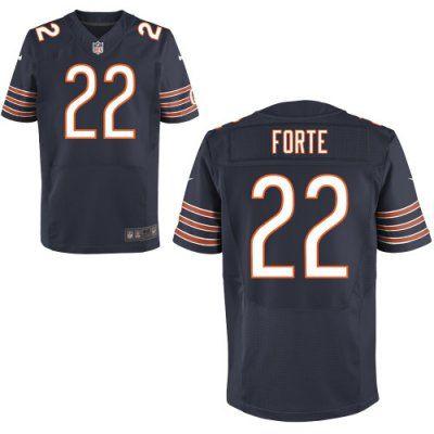 new bears 22 matt forte nike elite jersey dark blue team color on sale online nfl jerseys nike chica