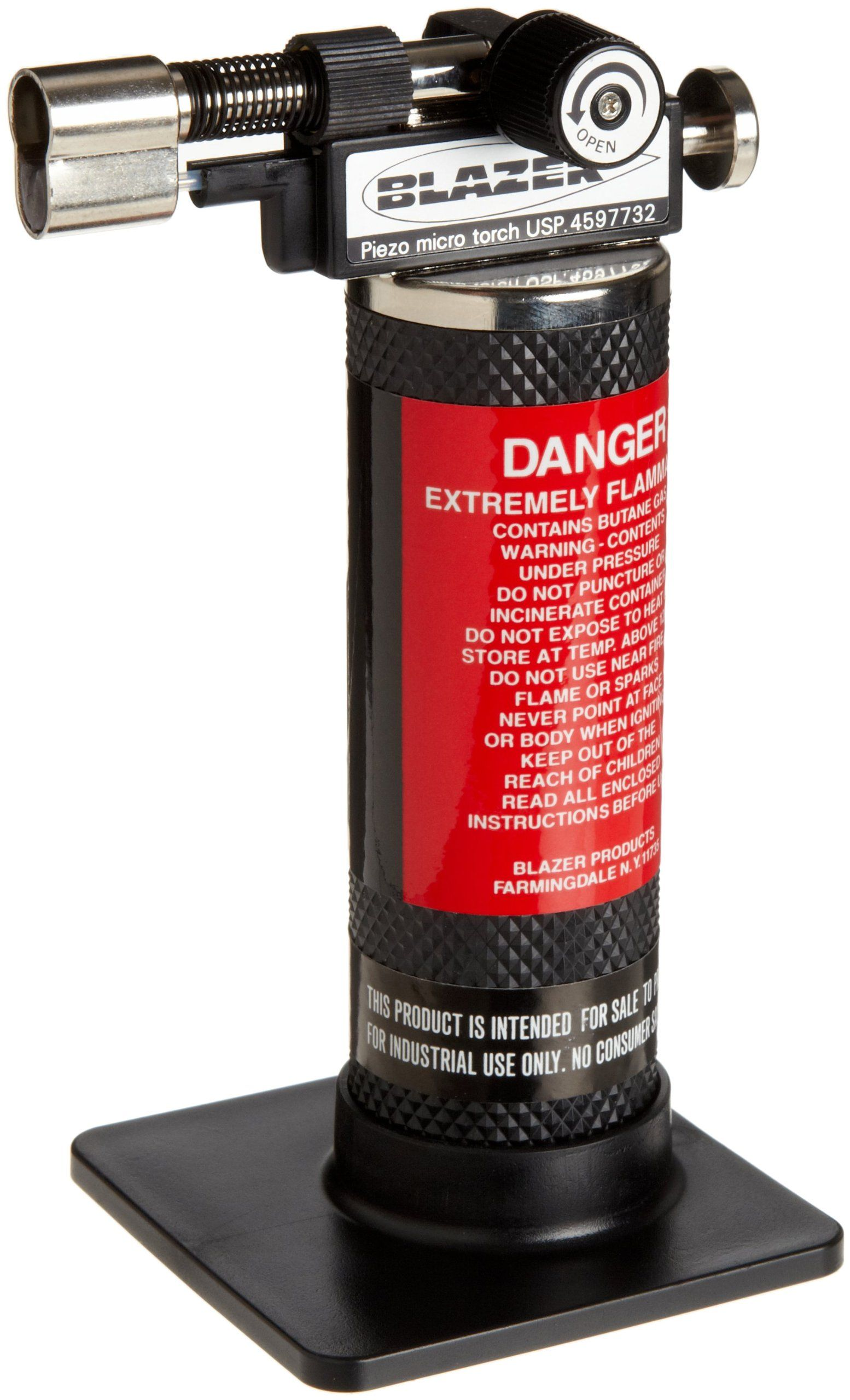 Amazon Com Blazer Gb2001 Self Igniting Butane Micro Torch Industrial Scientific Best Torch Torch Torch Light