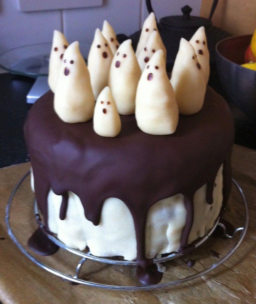 Gateau Fantome Chocolat Pate D Amande Cakes Pinterest Gateau
