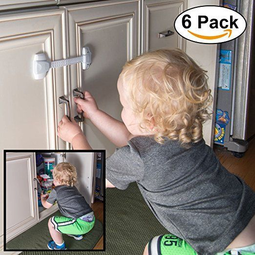 Baby Proofing Your Rental Home Here S A Hassle Free Babyproofing Safety Locks That Do Not Require Any Tools Or Drilli Childproofing Child Safety Baby Proofing