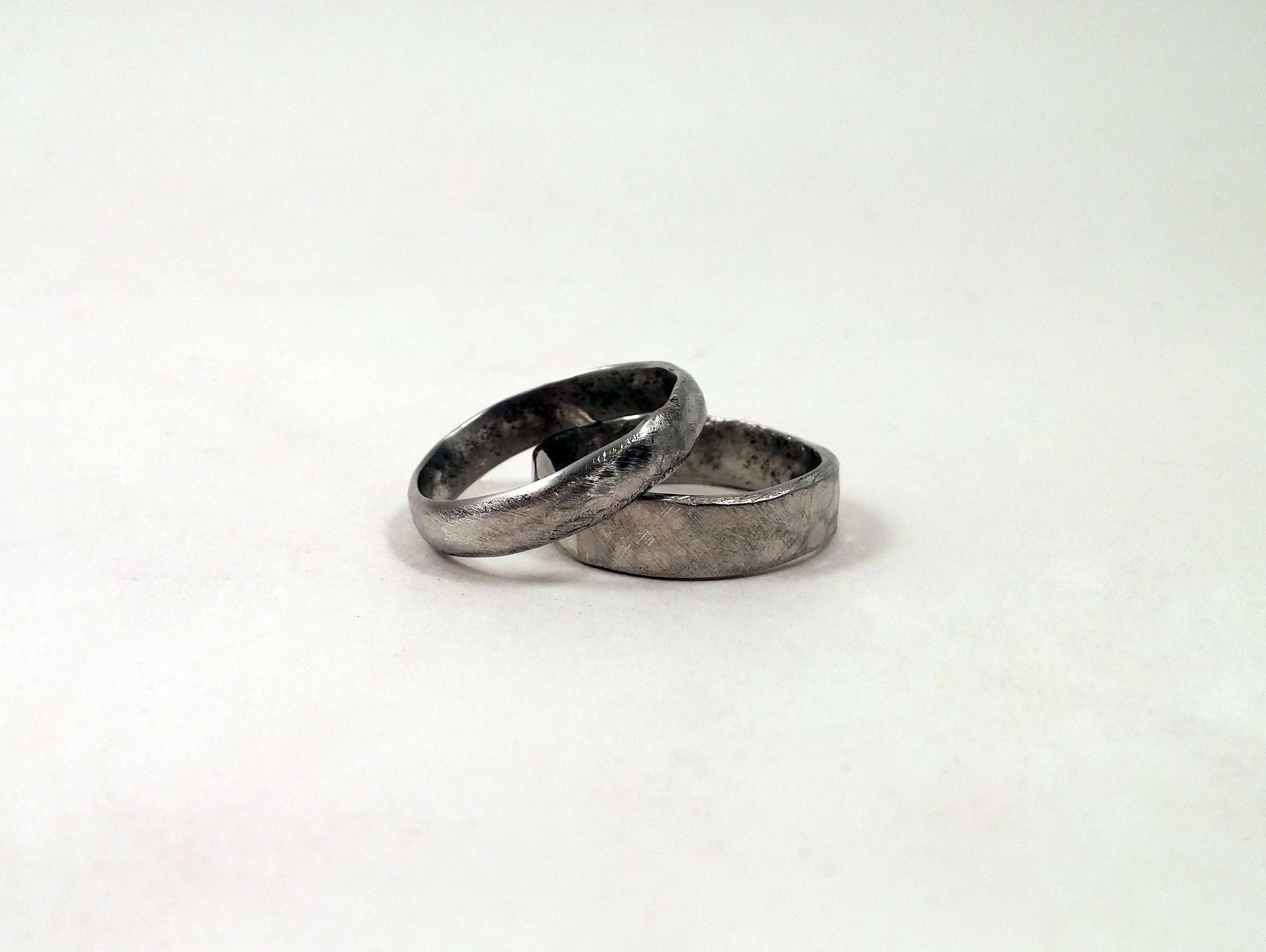 welsh sentinel rings ebay serviette napkin pewter dragon wedding solid itm