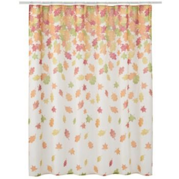 Harvest Falling Leaves Shower Curtain Curtains Curtains Kohls