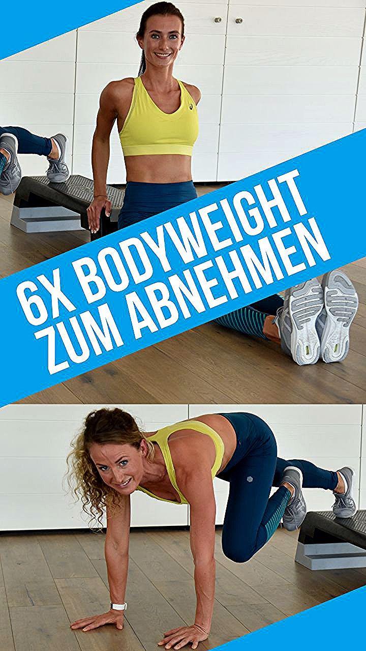 Deine Ziele sind Fettabbau, abnehmen am Bauch, den Körper straffen? Bodyweight Training ist das idea...