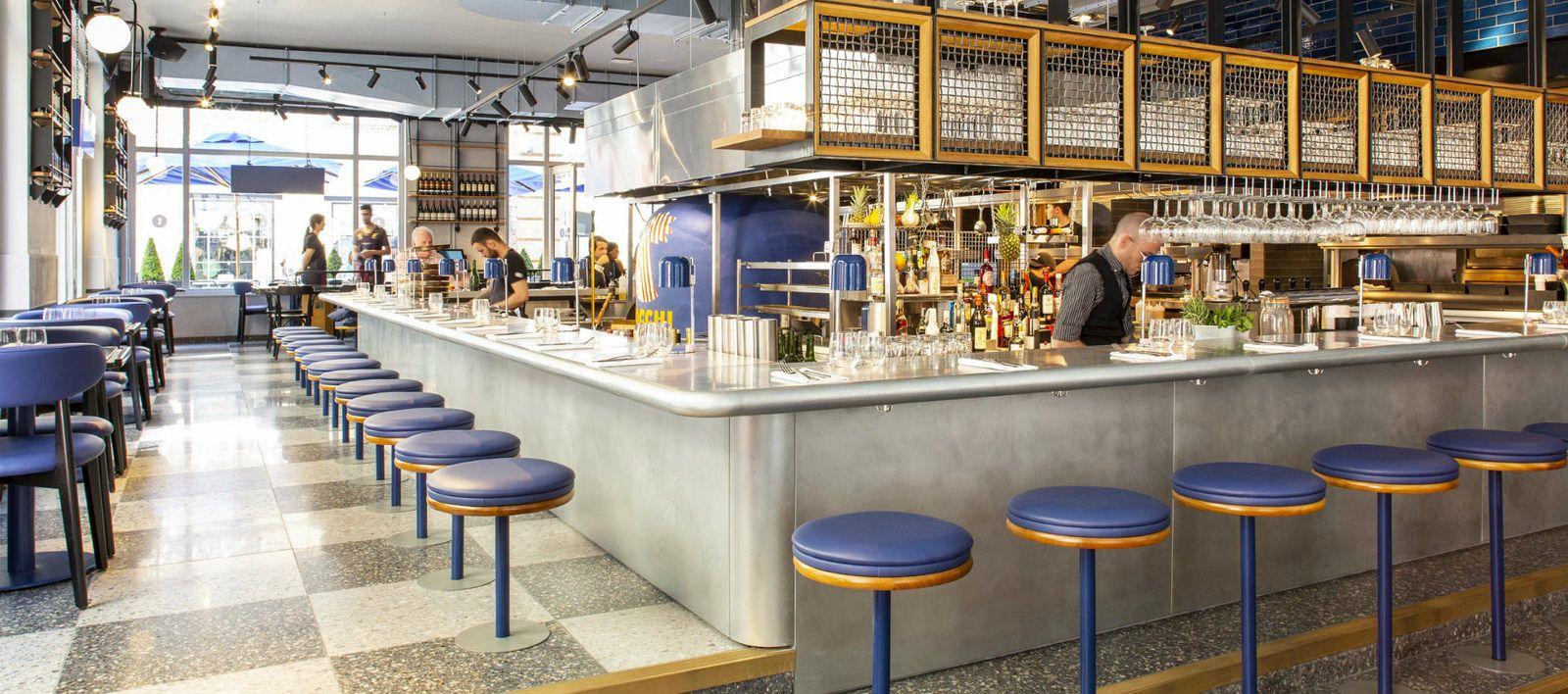 204 - Temper Covent Garden Zinc Bar Top | Zinc bar top ...