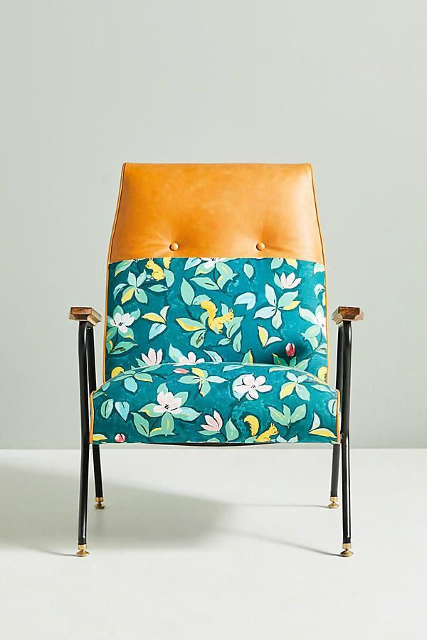Paule Marrot Quentin Chair by for Anthropologie in Green Size: All, Chairs #homedecor