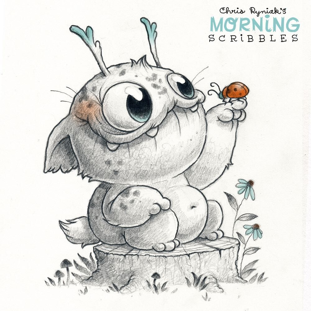 Bug buddies are good listeners. | all about drawing | Pinterest ...