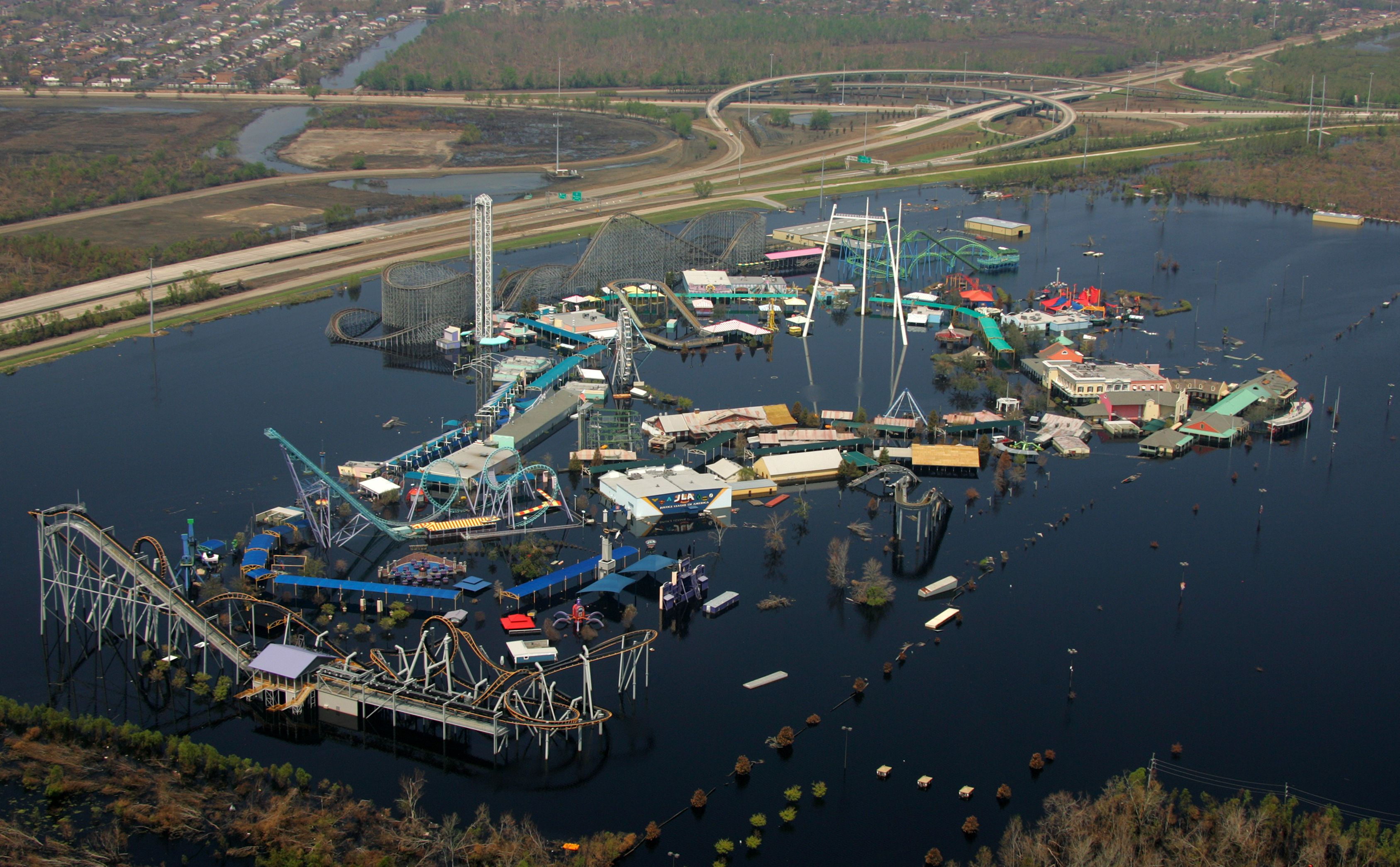 News Jurassic World To Film At Six Flags New Orleans Abandoned