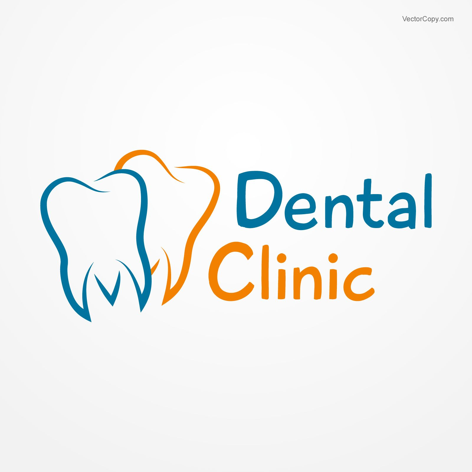 Dental clinic logo free vector Logotype Pinterest