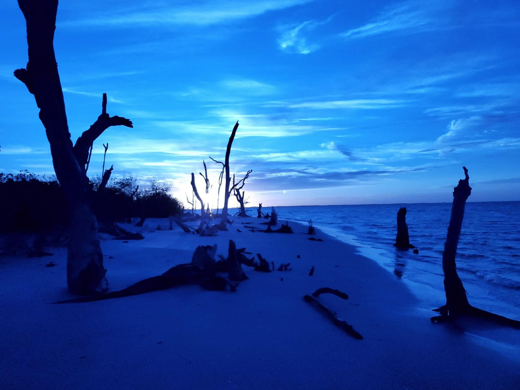 ITAP Morning Blue Sky Beach#PHOTO #CAPTURE #NATURE #INCREDIBLE