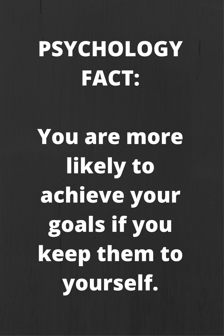 Quotes About Goals 10 Psychology Facts That Provide Useful Insight Into The Human