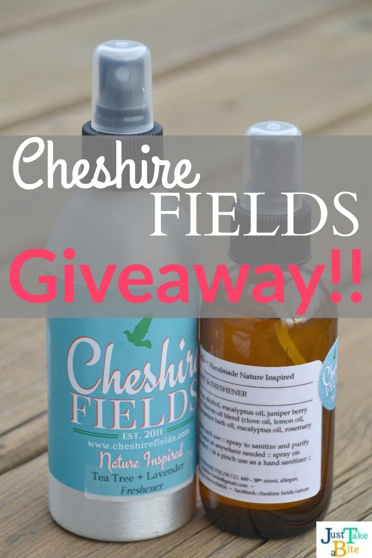 Cheshire Fields Review And Giveaway Giveaway Hand Sanitizer