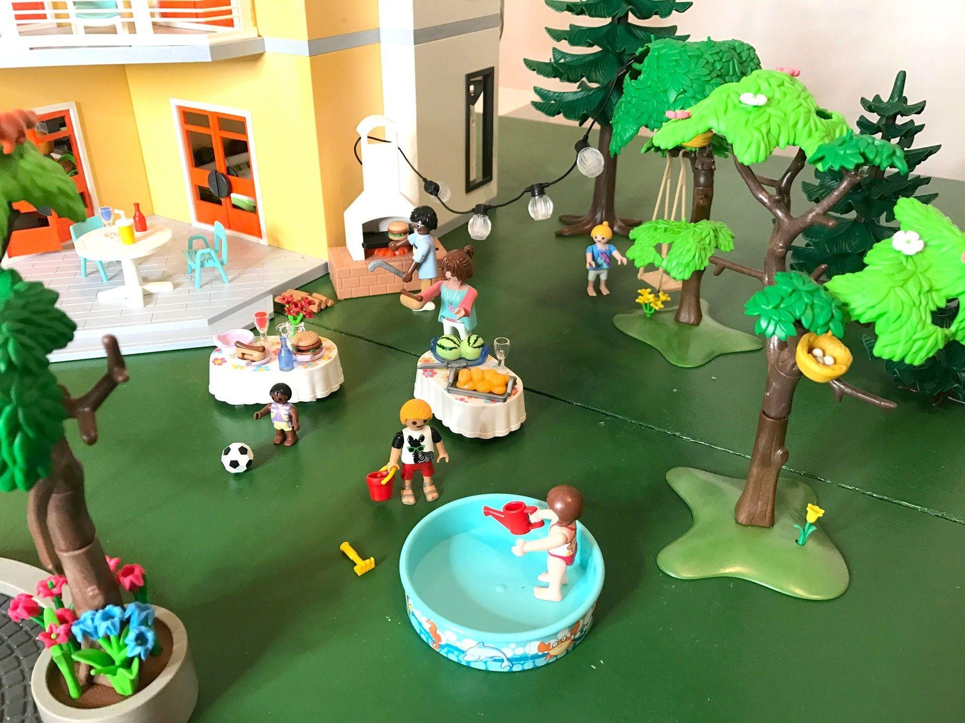 Playmobil Modernes Wohnhaus + Einrichtung und