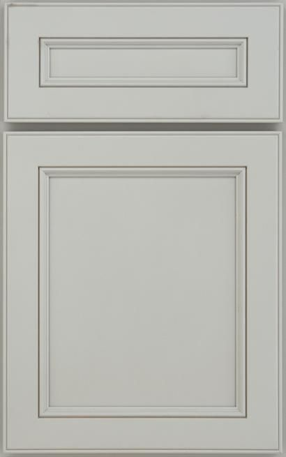 full overlay with small molding on rails (With images ...