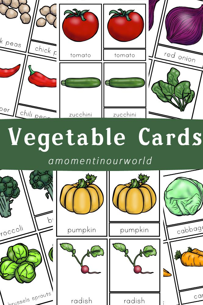 picture relating to Printable Vegetables identified as No cost Printable Vegetable Playing cards Montessori Asparagus