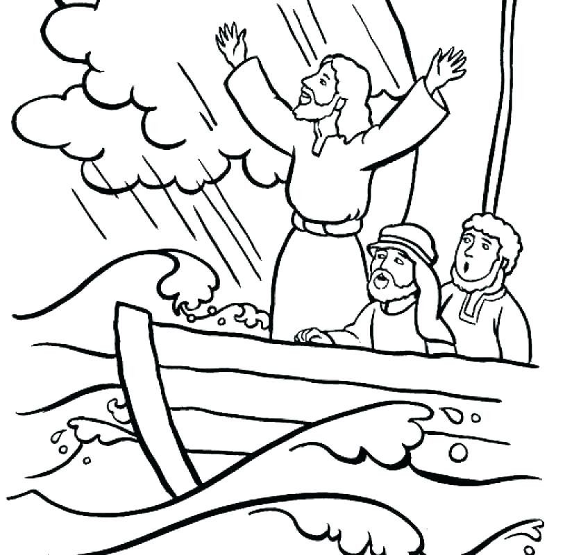 Jesus Calms The Storm Coloring Page Google Search Sunday School Coloring Pages Jesus Coloring Pages Jesus Calms The Storm