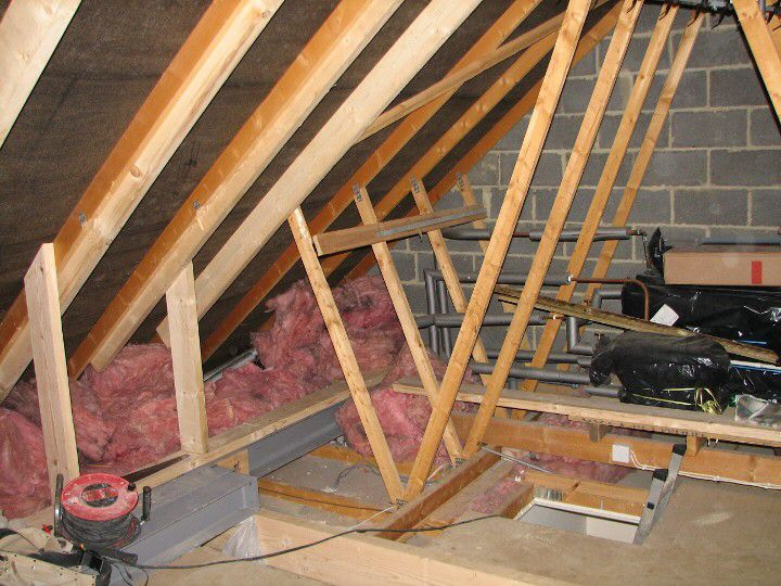 Image From Http Www Aboutloftconversions Co Uk Img Timber02 Jpg Loft Conversion Wood Frame House Attic Renovation