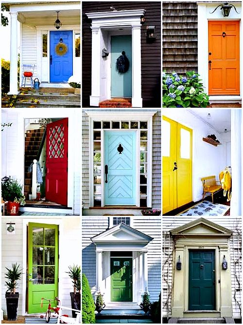 What Color Should I Paint My Door The Meaning Behind The Colors