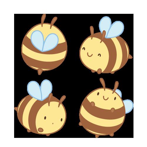 Little Bee By Daieny On Deviantart Cute Art Bee Drawing Cute Doodles