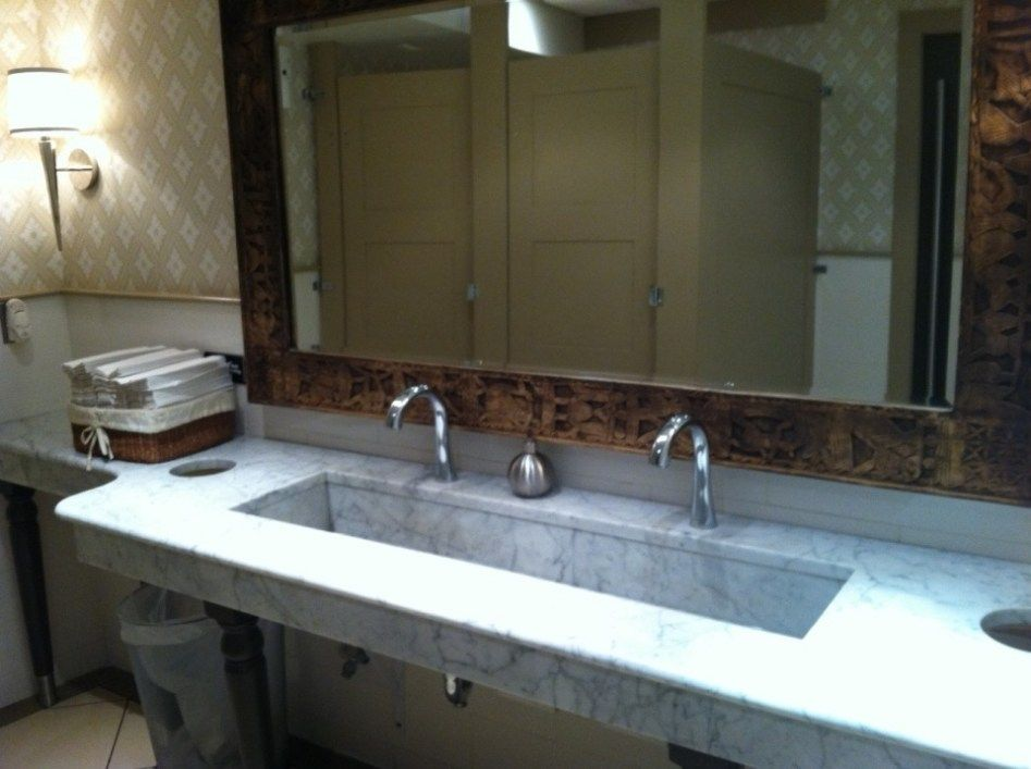 Extra Wide Undermount Bathroom Sink For Large Areas Bath