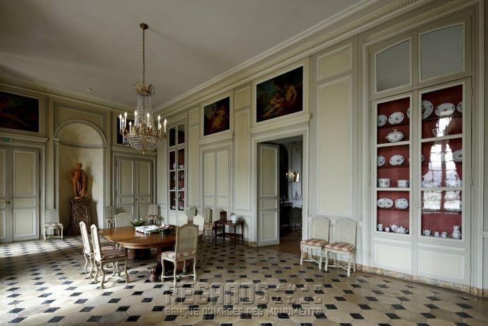 Château de La Motte-Tilly, salle à manger chateau Pinterest - salle a manger louis