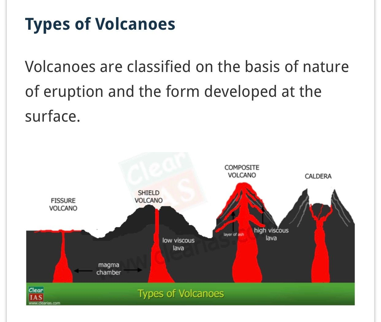 Types Of Volcanoes Hawaii Has Shield Volcanos Which