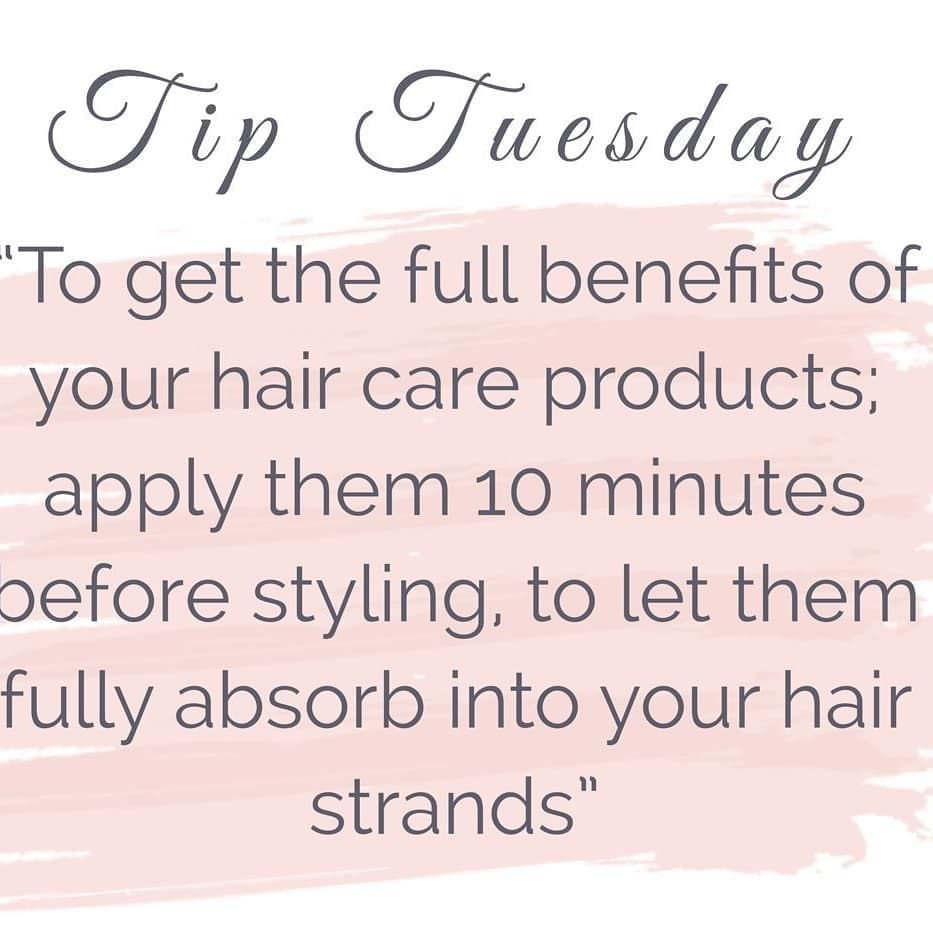 Tip Tuesday ...