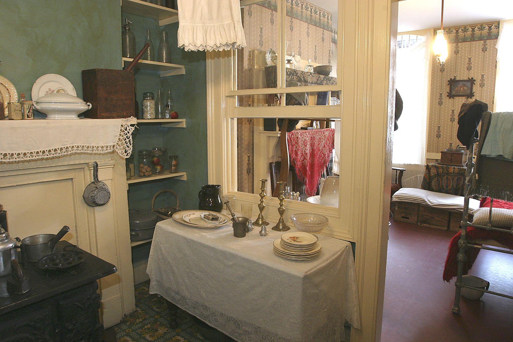 Ruth Mott Victorian Kitchen The Confino Kitchen Inside 97 Orchard Street Pinterest The