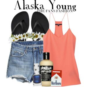 """alaska young """"looking for alaska""""  young outfit fan"""