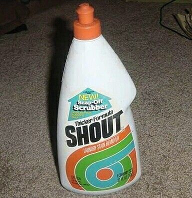 Shout It Out Shout Stain Remover Liquid Shout Stain Remover