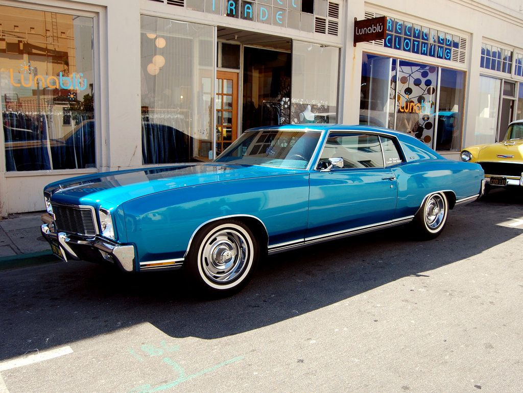 Blue 1971 Chevy Monte Carlo By Partywave On Deviantart Chevy