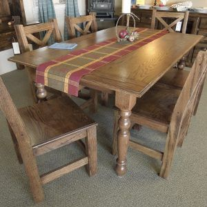 Red Oak Kitchen Table And Chairs