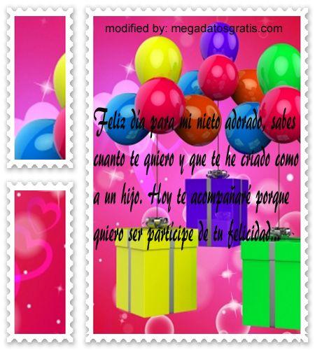 descargar nuevas tarjetas con frases de cumpleaos para tu nietoenviar gratisu