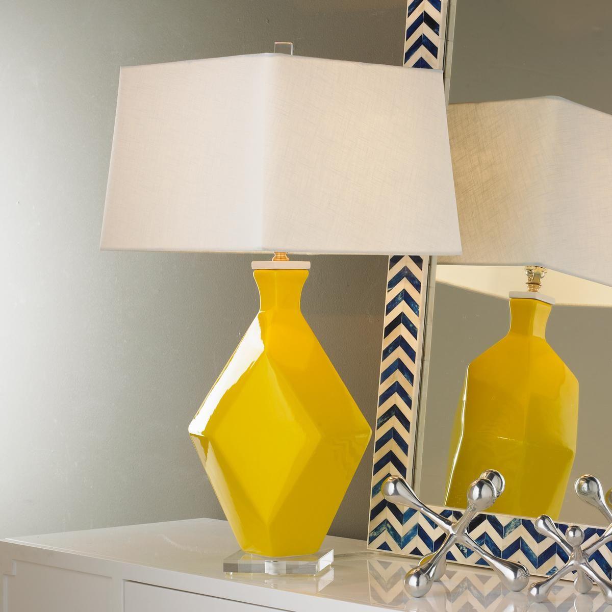 Yellow lamp base - Yellow Lamp Base
