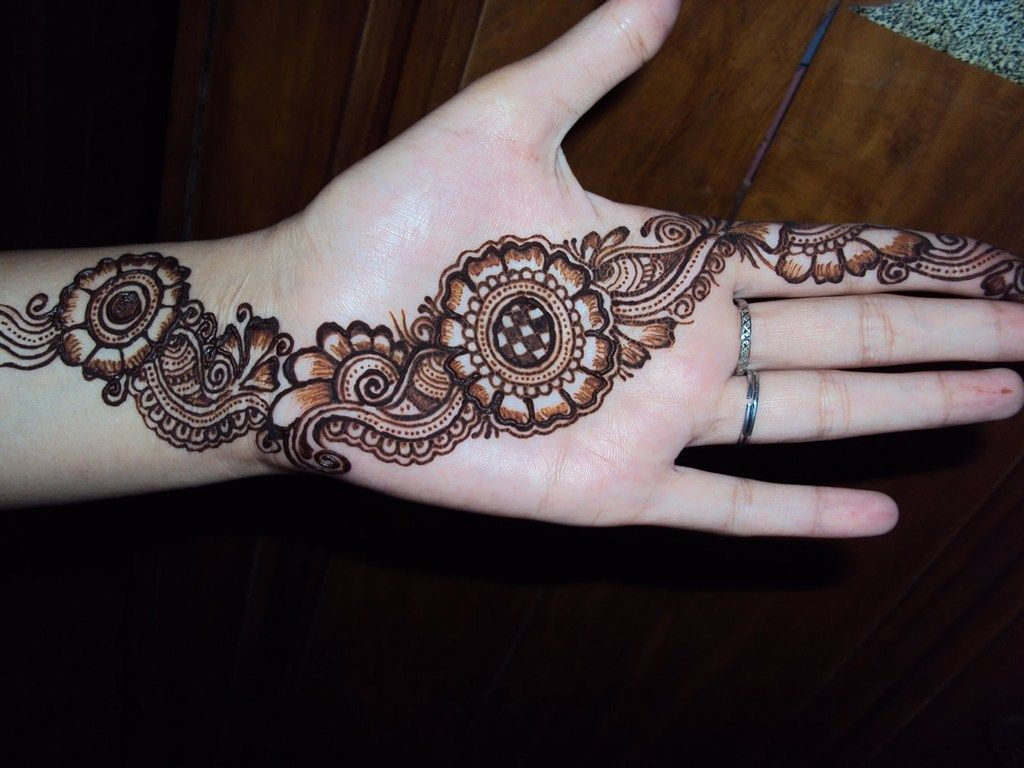 Flower Wali Mehndi : Filling mehndi design google search the henna