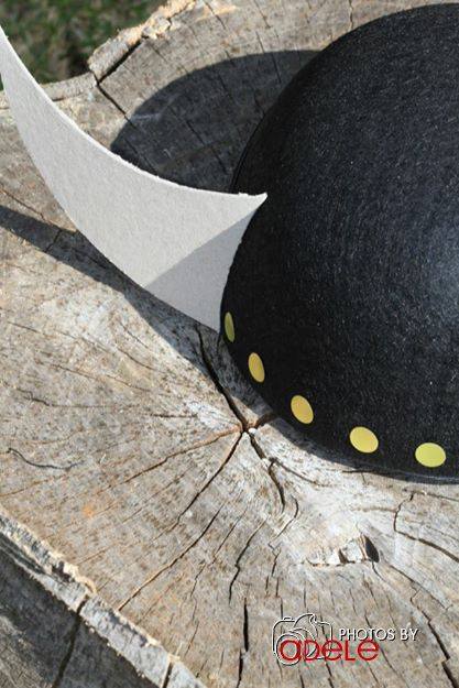 How to train your Dragon Birthday Party hats!  See more party ideas at CatchMyParty.com!